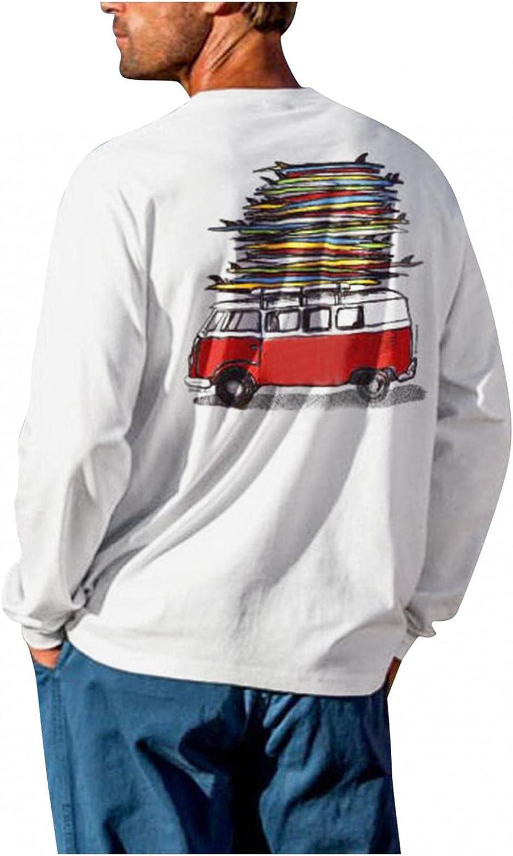 Nyybw Mens Kansas City Mall Sale special price Casual Slim Fit Basic Fas Sleeve Fashion Long T-Shirt