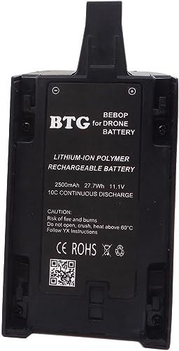 BTG UpGröße Lipo Battery 2500mAh 11.1V for Parrot Bebop Drone 3.0 Quadcopter Parts