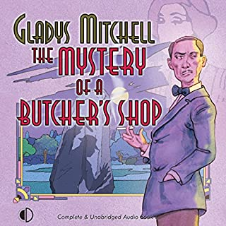 The Mystery of a Butcher's Shop audiobook cover art