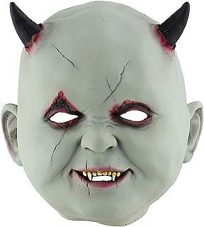 Masks Demon Vampire Halloween Mask Halloween Funny Fear Latex Mask Horror Zombie Haunted House Dress Up Room Escape Dress ...
