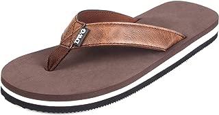 Men's Flip Flops Beach Sandals Lightweight EVA Sole Comfort Thongs