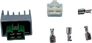 Tuzliufi Replace Voltage Regulator Rectifier Arctic Cat ATV 50 90 Kawasaki KLX110 KLX110L KLX140 KLX140L Yamaha Razz SH50 RT180 TT90 TTR125E LE LWE TTR230 TTR90 R S TTR90E Vino 50 TTR 125 New Z140