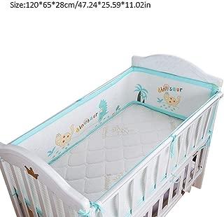 4 Faces-pour lits et lits bébé Airwrap Respirant Maille Tour de lit blanc