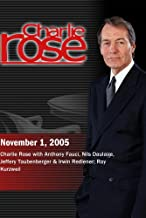 Charlie Rose November 1, 2005