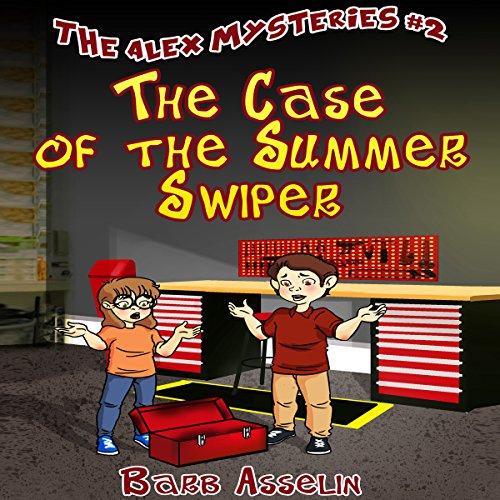 The Case of the Summer Swiper audiobook cover art