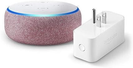 Echo Dot (3rd Gen) bundle with Amazon Smart Plug - Plum