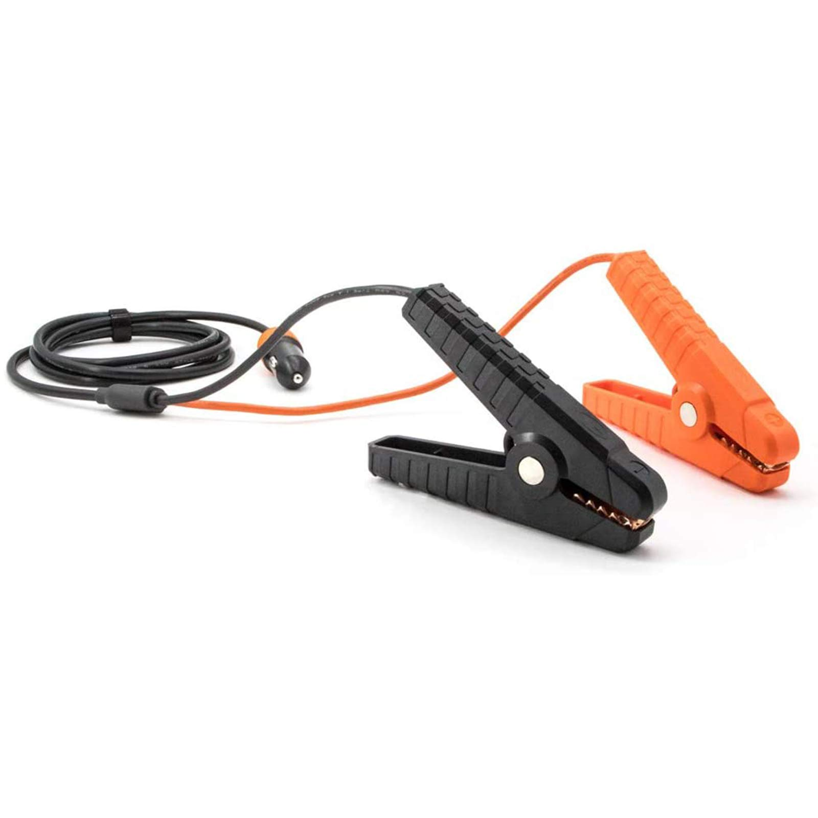 Jackery PowerCable 12V Automobile Lead-Acid Battery Charging Cable, Cigarette Lighter Plug to Alligator Battery Clamps for Car Battery, Compatible with Solar Generator Explorer 1000/500/300/240