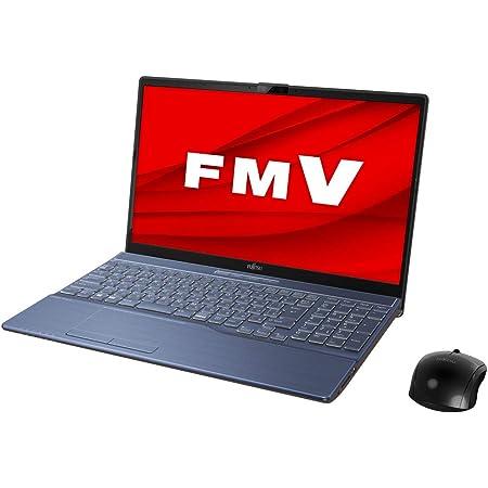 富士通 FMV LIFEBOOK AH77/E2 メタリックブルー - 15.6型ノートパソコン[Core i7 / メモリ 8GB / SSD 1TB / BDドライブ]Microsoft Office Home & Business 2019 FMVA77E2L