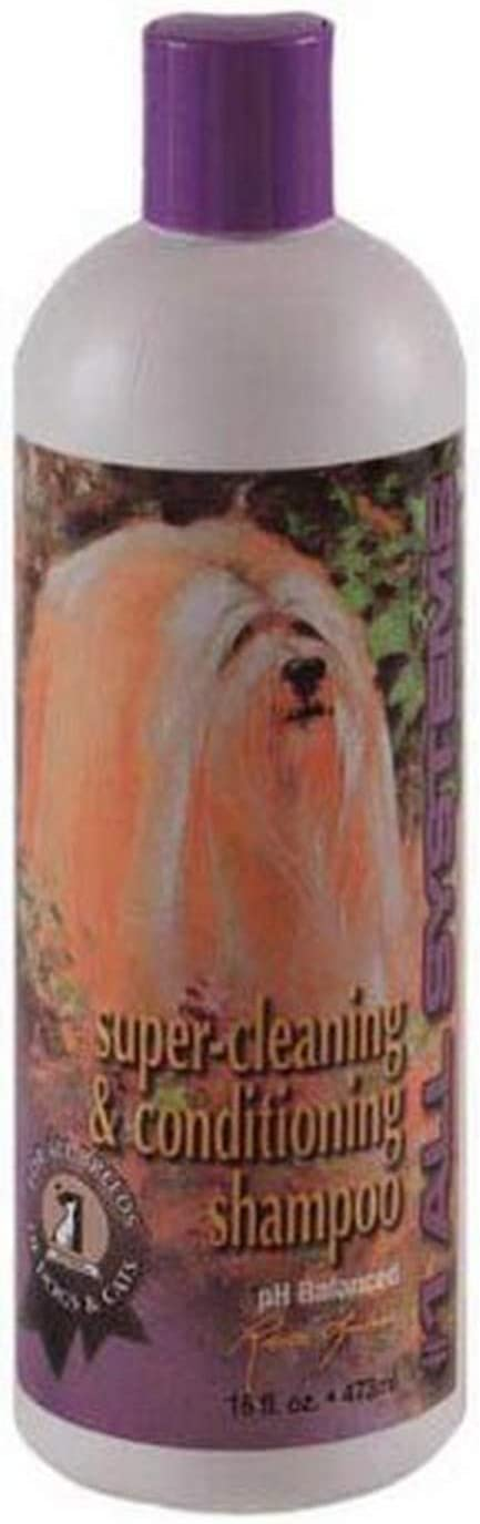 #1 All Systems Super Cleaning and Conditioning Pet Shampoo