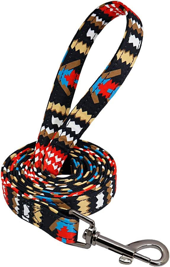 ZMJYH Dog Baltimore Mall Leash Rope Nylon In stock Walking Puppy Running Printed Tr