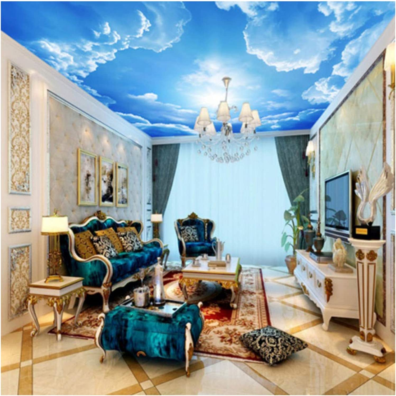 Disfruta de un 50% de descuento. Wiwhy Murales Fotográficos Fotográficos Fotográficos De Techo 3D Con Nubes Y Cielo Azul Para Murales De Techo Rbedr3D Hd L Fresco-200X140Cm  ventas en linea