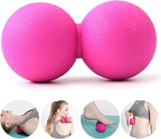 Massage Ball, QANZEEKI Massage Roller, Peanut Shape Self Fitness Mini Yoga Massage Ball, Perfect for Foot Back Neck Spine Muscles Release