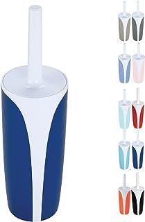 Set spazzolone WC con Supporto in Polipropilene//Acciaio Inox 476C Dimensioni 0,1 x 36 x 0,1 cm MSV 140942 Colore Cioccolato