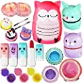 Joyin Toy All-in-one Girls Makeup Kit Including 4 Lip Balms, 3 Lip Gloss, 2 Shimmer Powders/Eyeshadow, and 1 Large Blush. from Joyin Inc