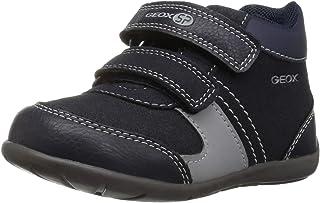 Geox Unisex-Child Elthan Boy 1 High Top Hook-and-Loop Shoe Sneaker