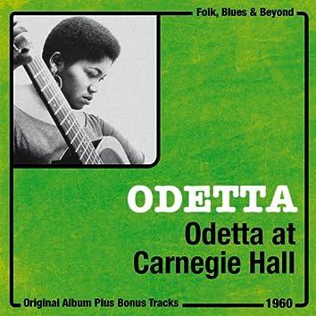 Odetta At Carnegie Hall (Original Live Album plus Bonus Tracks, 1960)