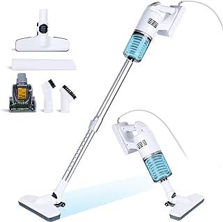Aspirateur balai filaire 5 en 1 -Aspirateur à main à aspiration de puissance 17000pa avec filtre HEPA lavable pour la mais...