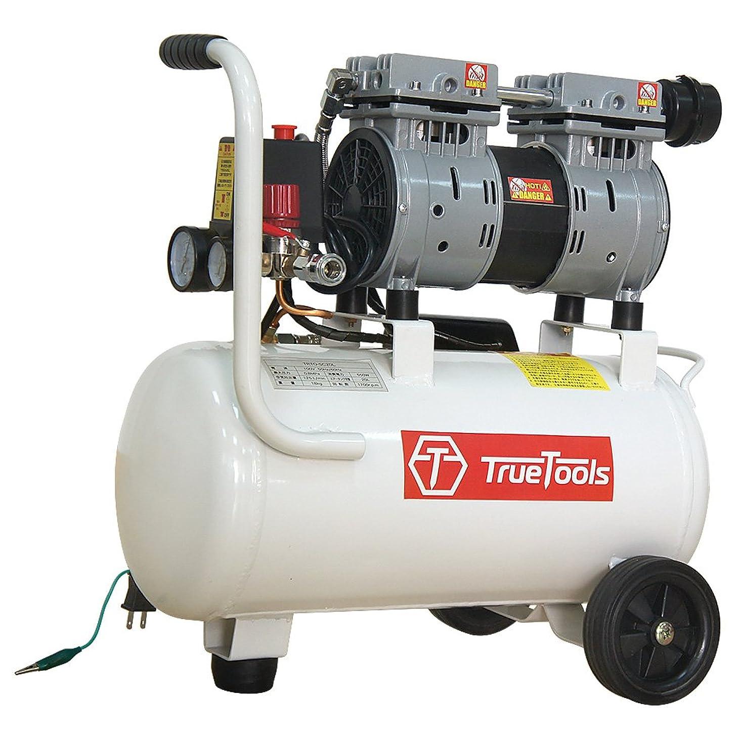 グリーンランドかみそり幾何学TrueTools 静音 オイルレス エアーコンプレッサー 20L TRTO-SC20L