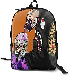 Bape - Mochila para el colegio, el trabajo y la universidad, deportiva, con compartimento para portátil y acolchado en la espalda