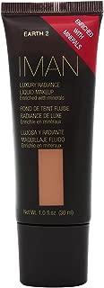 Iman Cosmetics Luxury Radiance Liquid Makeup, Earth 2