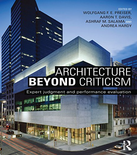 Architecture Beyond Criticism: Expert Judgment and Performance Evaluation (English Edition)