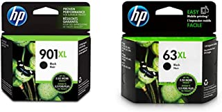 $79 » HP 901XL | Ink Cartridge | Black | CC654AN & 63XL | Ink Cartridge | Black | F6U64AN