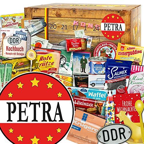 Petra / Ostalgie Adventskalender / Geschenkidee Advent Frau