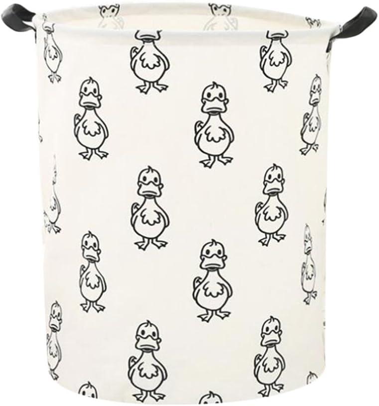 Big Mouth Duck Kids Toys Storage Basket Bin Cloth Hamper Keep Tidy Clean Home Organization