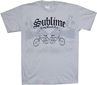 3906be116 Sublime Lowrider Bicycles Long Beach CA Grey T Shirt Soft