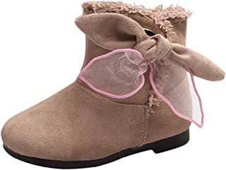 Infant//Toddler Lurryly❤Baby Soft Sole Warm Winter First Walkers Prewalker Frenulum Snow Boots
