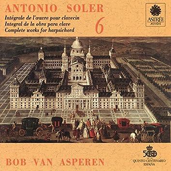 Soler: L'œuvre pour clavecin, Vol. 6 (Clavecin Michael Johnson, Fontmell Magna, 1979, d'après Pascal Taskin, Paris 1764)