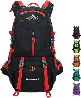 40L/50L/60L Mochilas de Senderismo Deportes al Aire Libre Multifunción Bolsa Impermeable Ciclismo Montaña Excursionismo Alpinismo Trekking Viajes Campamento para Unisex