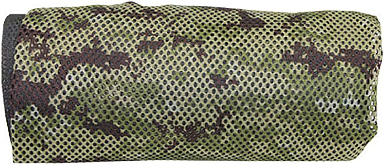 Camouflage Outdoor Camping Hammock, Single Breathable Nylon mesh Hole Lightweight Portable Hammock, for Hiking Camping Adventure Adult, 190  90cm, with Storage Bag