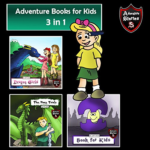 Adventure Books for Kids: 3 in 1 cover art