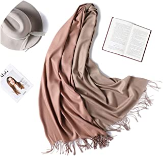 Winter Scarf Women Double Side Colors Lady Cashmere Scarves Pashmina Shawls And Wraps Warm Bandana Hijabs
