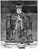 Confucius (C551-479 BC) Nchinese Philosopher Statue Of Confucius In The Temple At Canton Wood Engraving French C1867 After A Drawing By ?mile Therond Poster Print by (18 x 24)