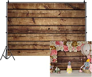 LFEEY 10x8ft Wood Backdrops for Photography Grunge Wood Vintage Worn Wooden Boards Background Seamless Backdrop Gray Wood Photo Backgrounds Wood Wall Wrinkle Free Photography Backdrops Photo Studio