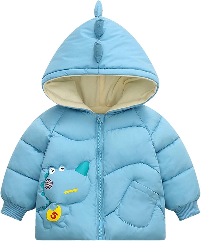 Toddler Super Special SALE held Kids Baby Clothes Boys Cute Zipper Dinosaur Hoodie Finally resale start Girls