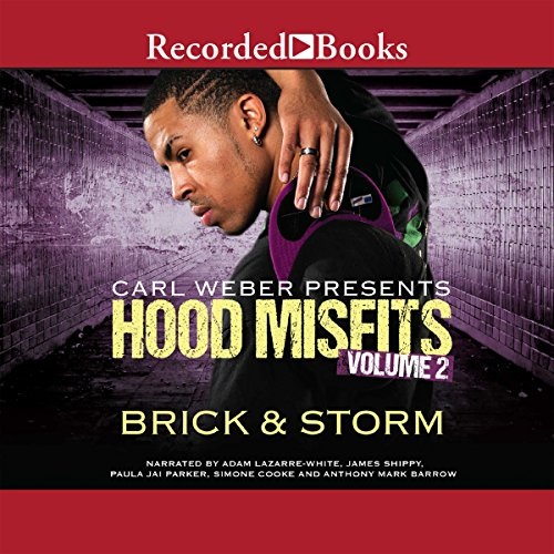 Hood Misfits Volume 2     Carl Weber Presents              By:                                                                                                                                 Brick,                                                                                        Storm                               Narrated by:                                                                                                                                 Adam Lazarre-White,                                                                                        James Shippy,                                                                                        Paula Parker,                   and others                 Length: 8 hrs and 39 mins     393 ratings     Overall 4.6