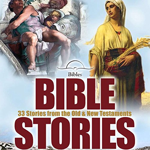 Bible Stories audiobook cover art