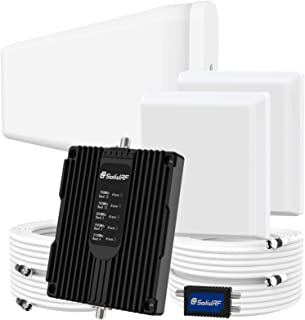 SolidRF Cell Phone Booster for Home Up to 8, 000 sq ft Dual Interior Antennas Office Multiroom | Verizon, AT&T, T-Mobile, ...