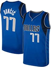 Ruimei Herren Basketball Trikot für Männer Luka Doncic Dallas Mavericks # 77 Trikot