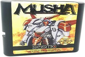 Royal Retro Console de jeux vidéo Musha pour Sega Genesis et Mega Drive 16 bits (noir)