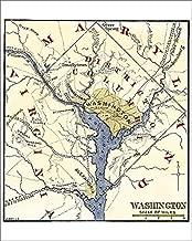 Media Storehouse 10x8 Print of Washington DC During The Civil War (5879756)