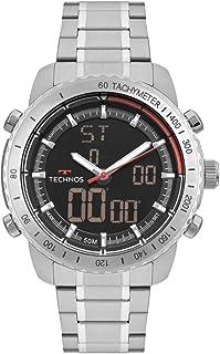 Relógio Technos Masculino TS Digiana Prata W23745AA1P
