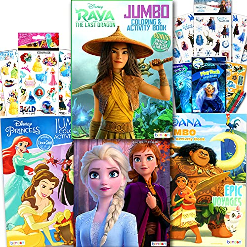 Disney Princess Coloring Book Set f…
