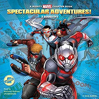 Spectacular Adventures! audiobook cover art