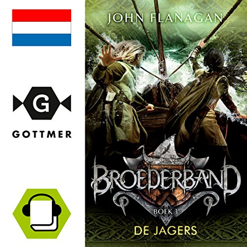 De jagers audiobook cover art