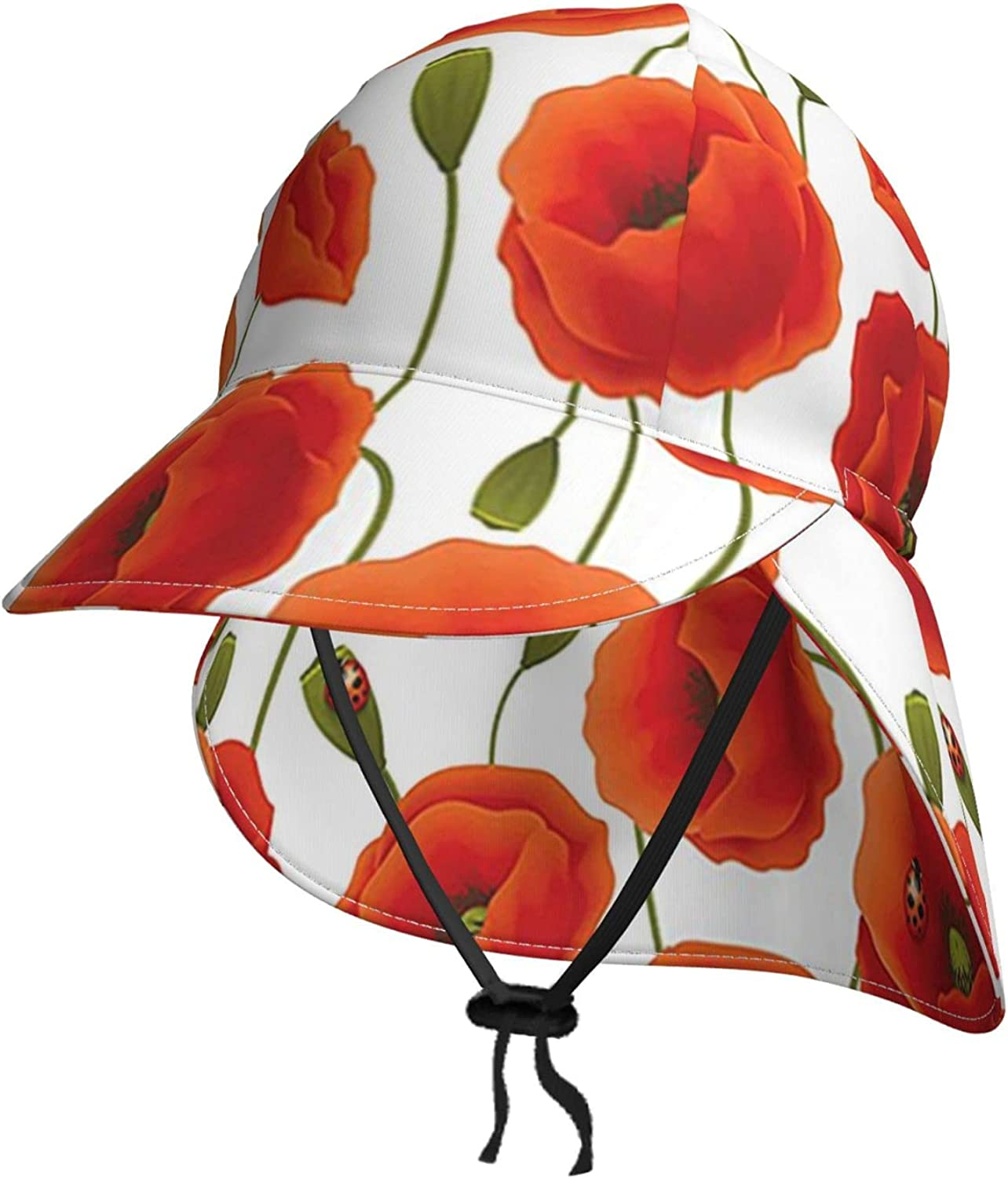 Floral Flowers Pattern Toddler Sun New product type Hat Baby for Kids Daily bargain sale Beach P