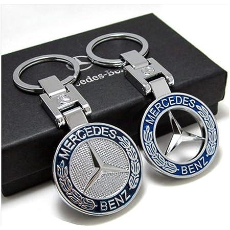 Mercedes Benz Schlüsselanhänger Typo E Klasse Edelstahl Schwarz Silber Koffer Rucksäcke Taschen